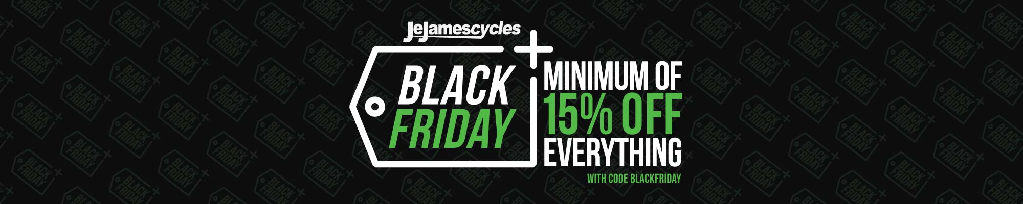 Je James Black Friday