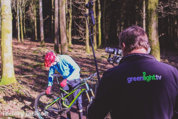 Filming with Greenlight TV for BIKE channel on Sky/Virgin TV