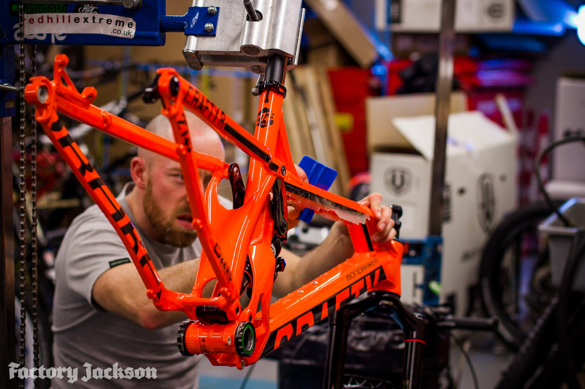 Mountain Proof Your Mtb Mtb Frame Protection Factory
