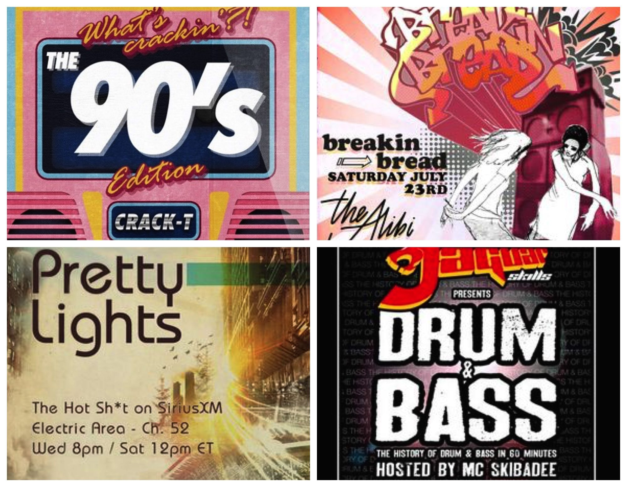 DJ Mixes - four awesome mixes for your weekend