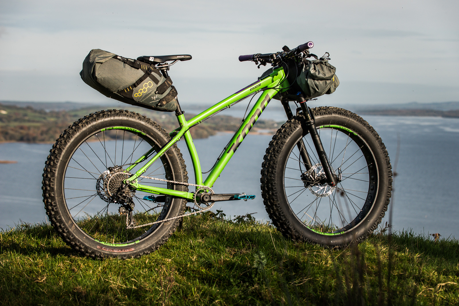 A MicroAdventure in Ireland on the Kona Wozo