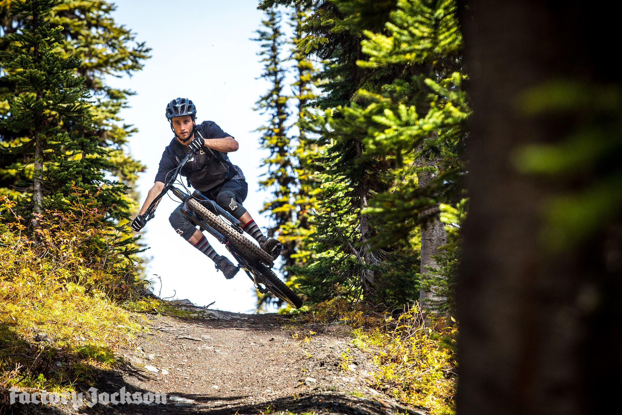 Connor Fearon shreds the Kona Hei Hei at Retallack Lodge